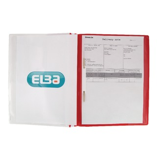 A4 Red Pocket Report File (25 Pack) 400055038
