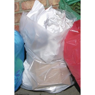 Clear Polythene Bags On a Roll (250 Pack)