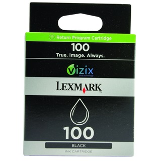 100 Black Return Program Inkjet Cartridge 14N0820E