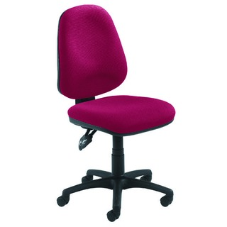 Concept High Back Permanent Contact Operator Claret Chair