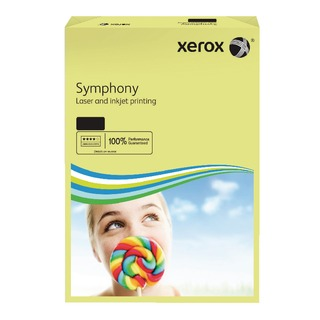 Symphony Pastel Yellow A4 80gsm Paper (500 Pack)