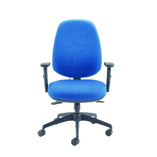 Rise High Back Posture Blue Chair