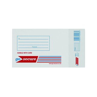 Bubble Lined Envelope Size 1 100x165mm White (100 Pack)