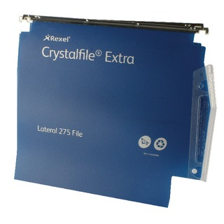 Crystalfile Extra Blue 30mm Lateral File (25 Pack)