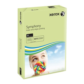 Symphony Pastel Green A4 160gsm Card (250 Pack)