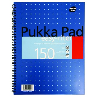Easy-Riter A4 Wirebound 4 Hole Notebook (3 Pack) ERM009