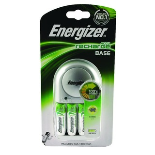 Base Battery Charger With 4 x AA Batteries 632229