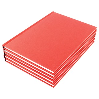 A5 Ruled Feint Manuscript Book (10 Pack)