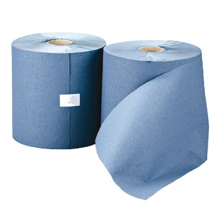 1-Ply Blue Hand Towel Roll (6 Pack) RTB200DS
