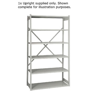 Shelving W1000xD460mm Grey Extension Kit 1018ESEXK46-AT