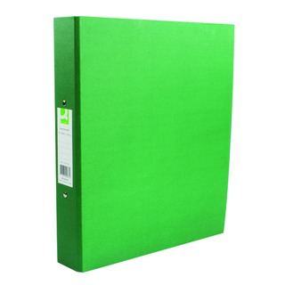2 Ring 25mm Paper Over Board Green A4 Binder (10 Pack)