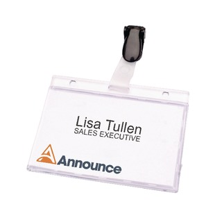 Security Pass Holder 60x90mm (25 Pack)