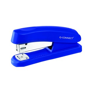 Blue Half Strip Plastic Stapler