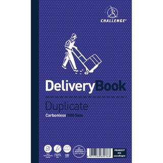 Duplicate Delivery Book Carbonless 100 Sets 210 x 130mm (5 Pack) 10008047