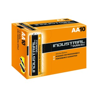 Industrial AA Alkaline Batteries 5000832 (10 Pack)