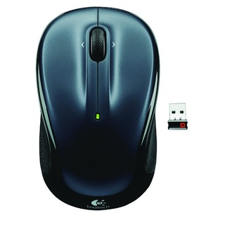 Dark Silver M325 Wireless Mouse 910-00214