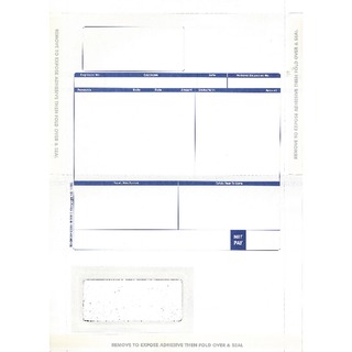 Custom Forms Pegasus Hand Seal Payslips (500 Pack) MS29S