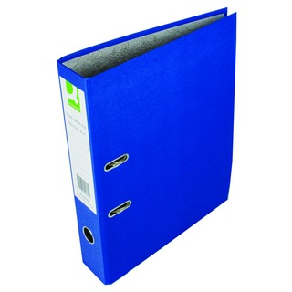 Blue Foolscap Paperbacked Lever Arch File (10 Pack)