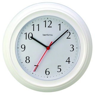 Wycombe Wall Clock White