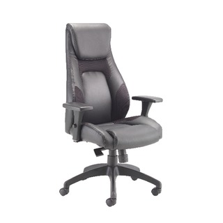 Veloce Leather Look And Mesh Managers Task Chair