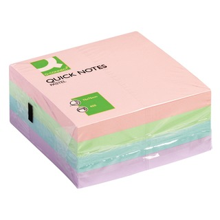 76 x 76mm Pastel Quick Note Cube