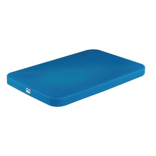 Blue Mobile Tapered Container Truck Lid 308368
