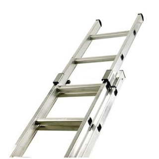 Aluminium Double Section Push Up 24 Rung Ladder 323143
