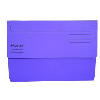Forever Bright Purple Document Wallet (25 Pack) 211/5005