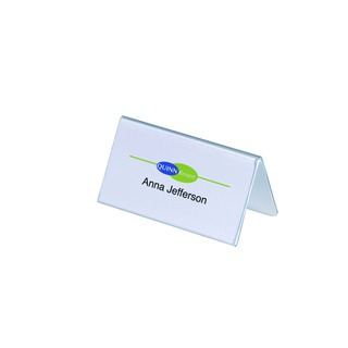 Table Name Holder 52x100mm (25 Pack)
