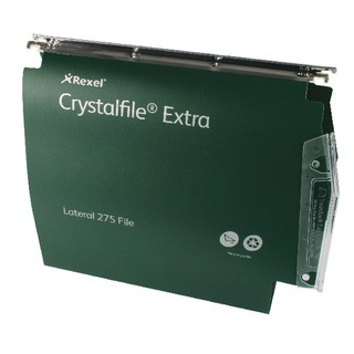 Crystalfile Extra Green 50mm Lateral File (25 Pack)