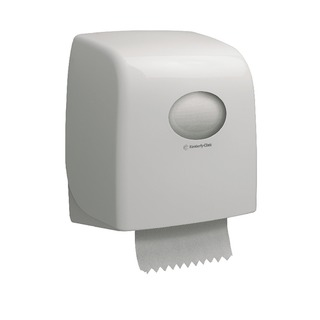 Aquarius White SlimrRoll Hand Towel Dispenser 695