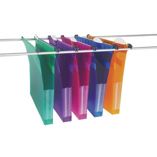 Multifile Extra Assorted Foolscap 30mm Suspension File (10 Pack) 210257