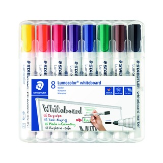 Lumocolor 351 Drywipe Assorted (8 Pack) 351 WP