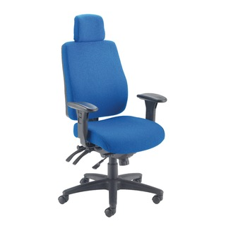 Elbrus High Back Operator Blue Chair