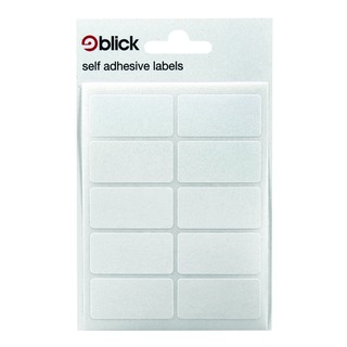 White 19x38mm Labels (1400 Pack)