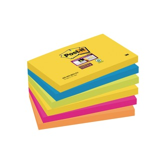 Post-it 76 x 127mm Rio Super Sticky Notes (6 Pack) 70-0052-5132-