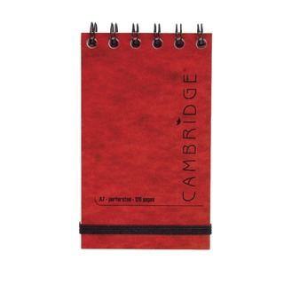 Elasticated Red Notebook 76 x 127mm (10 Pack) 100080421