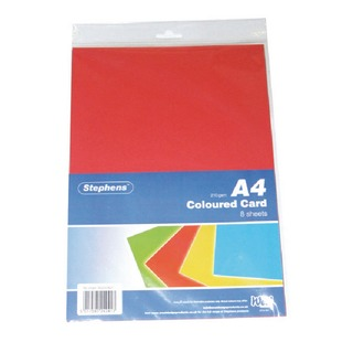 Assorted Coloured Card (80 Pack) RS242451