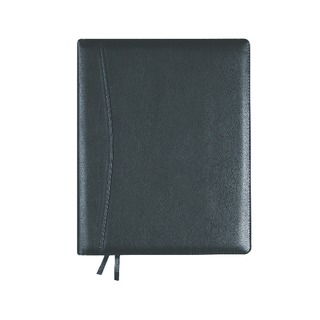 Elite 2019 Compact Day/Page Diary Black