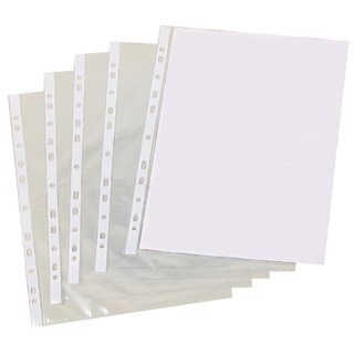 A4 Clear Punched Pockets (500 Pack) PM