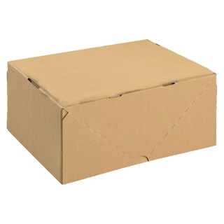 Carton With Lid 305x215x150mm Brown (10 Pack) 14466