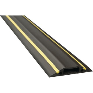 Black/Yellow Medium Hazard Duty Floor Cable Cover 9m FC83H/9M