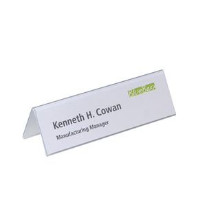 Table Place Name Holder 61 x 210mm (25 Pack) 8052/19
