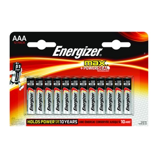 MAX E92 AAA Batteries (12 Pack) E3001037