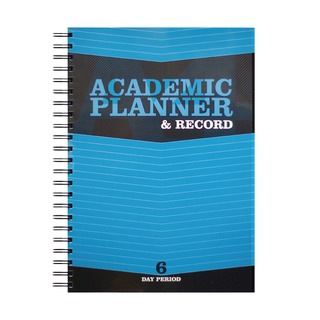 Teacher Academic Planner and Record 6 Period Blue A4 EX202