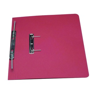 Red Foolscap Heavyweight Spiral File (25 Pack) 211/7