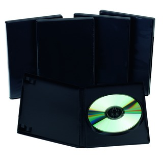 Black DVD Case - (5 Pack)