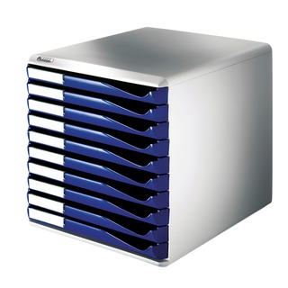 Blue 10 Drawer Form Set 5281-00