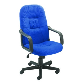 High Back Manager Blue Chair