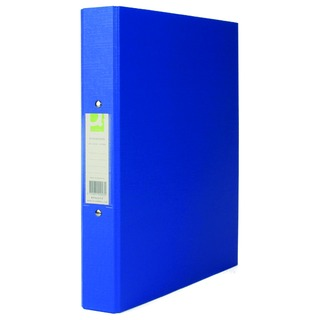 2 Ring 25mm Polypropylene Blue A4 Binder (10 Pack)